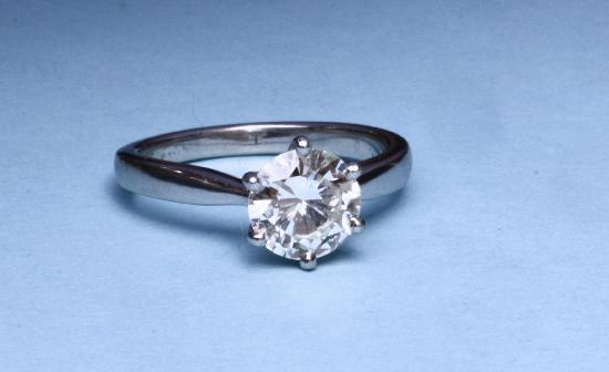 2 CT DIAMOND SOLITAIRE ENGAGEMENT RING