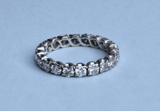BEST QUALITY DIAMOND FULL ETERNITY RING
