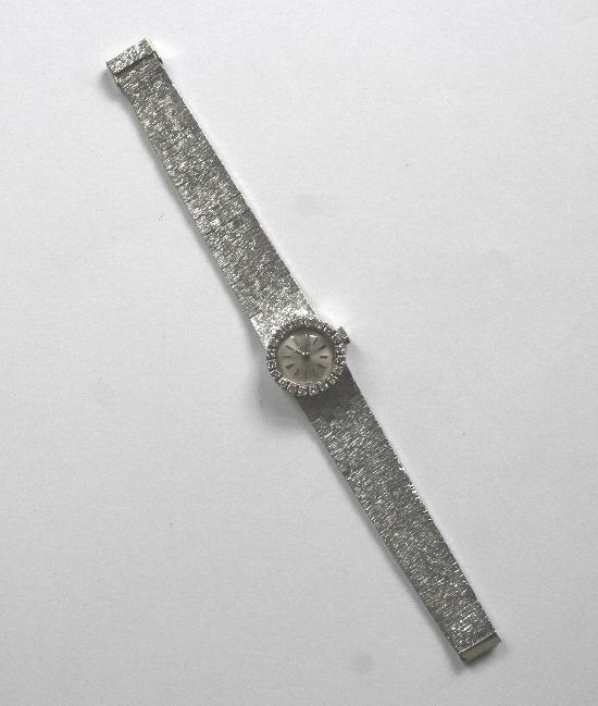 BUECH GIROD DIAMOND LADIES WATCH VINTAGE