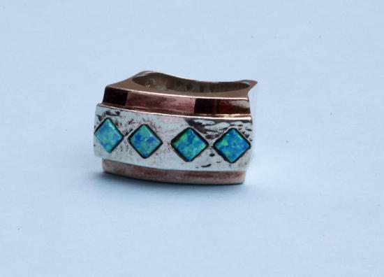 CHUNKY UNUSUAL RETRO RING