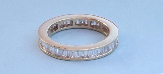 FULL DIAMOND ETERNITY RING