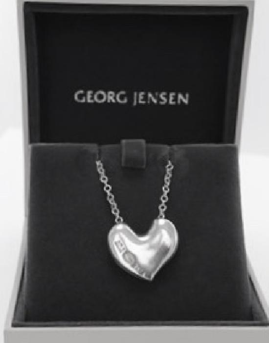 GEORGE JENSON HEART NECKLACE IN BOX