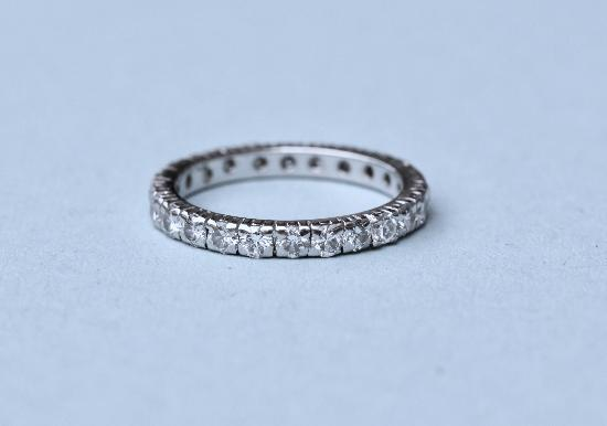 GOOD QUALITY DIAMOND FULL ETERNITY RING