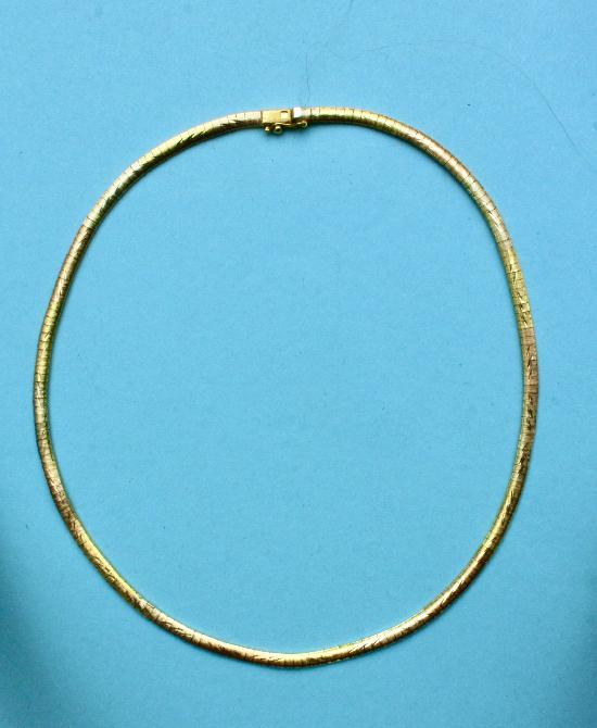 GOOD QUALITY GOLD NECK CHAIN CHOKER