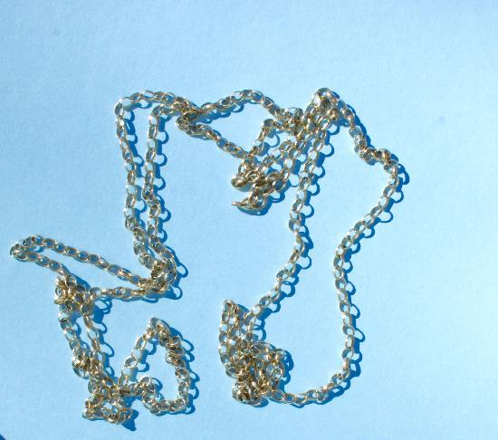 LONG GOLD GUARD CHAIN