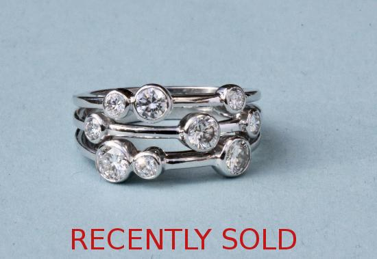 BOODLES TYPE DIAMOND RING