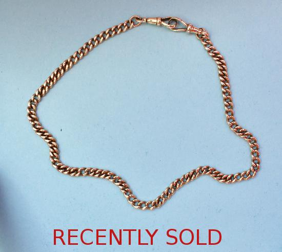 VINTAGE GOLD ALBERT CHAIN