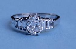 Diamond Engagement Ring.   E Colour