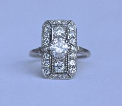 Beautiful Belle Epoque Engagement Ring