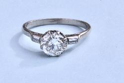 Beautiful Diamond Solitaire Engagement Ring