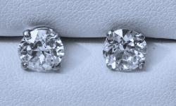 Beautiful Diamond Stud Earrings.