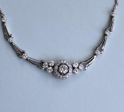 Beautiful Vintage Diamond Necklace