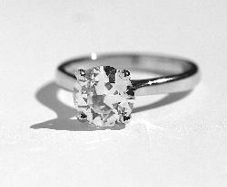 Certificated Diamond Solitaire G Colour Beautiful