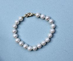 Charming Cultured Pearl Bracelet