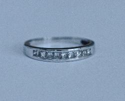 Diamond Half Eterniy Ring