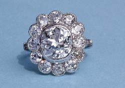 Fabulous French Diamond 4.40ct Centre Diamond