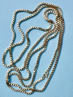 Fabulous Long Gold Heavy  Guard Chain