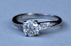 Fine Quality Diamond Engagement Ring