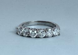 Good Quality  Diamond Six Stone Ring