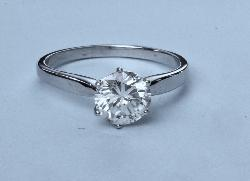 Gorgeous Diamond Solitaire Engagement Ring