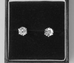 Old-cut Diamond Earstuds