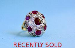 Belle Epoque Ruby And Diamond Ring