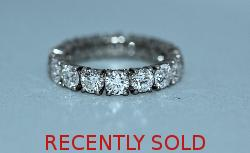 Fantastic 5ct Diamond Full Eternity Ring