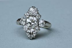Stunning Antique Diamond Engagement Ring