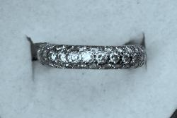 Stylish Full Diamond Eternity Ring