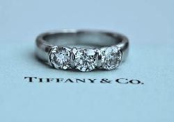 Tiffany And Co Etoile Diamond Engagement Ring