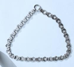 Victorian Silver Choker Necklace